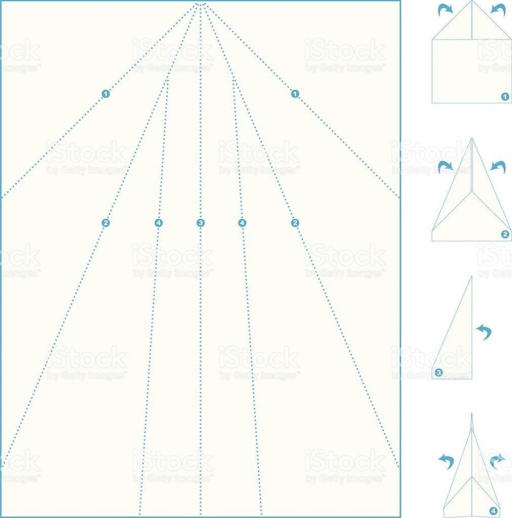 005 Wondrou Printable Paper Airplane Pattern Highest Clarity  Free Plane Design Designs-printable TemplateLarge