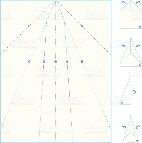 005 Wondrou Printable Paper Airplane Pattern Highest Clarity  Free Plane Design Designs-printable Template480