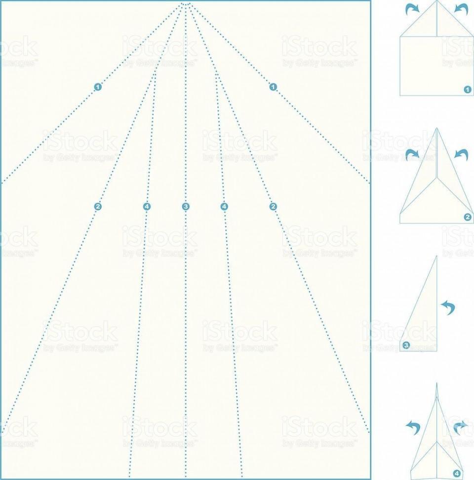 005 Wondrou Printable Paper Airplane Pattern Highest Clarity  Free Plane Design Designs-printable Template960