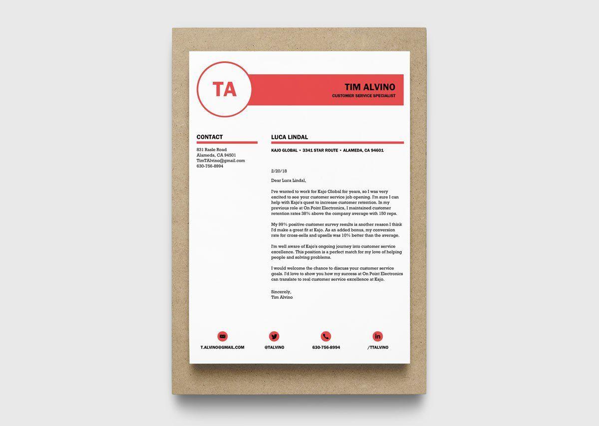 005 Wondrou Resume Cover Letter Template Microsoft Word Design Full