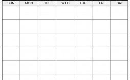 006 Amazing 30 Day Calendar Template Highest Quality  Pdf Free Blank