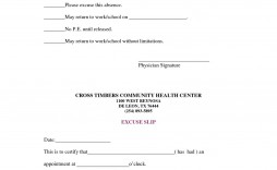 006 Amazing Doctor Note For Missing Work Template Image  Doctor'