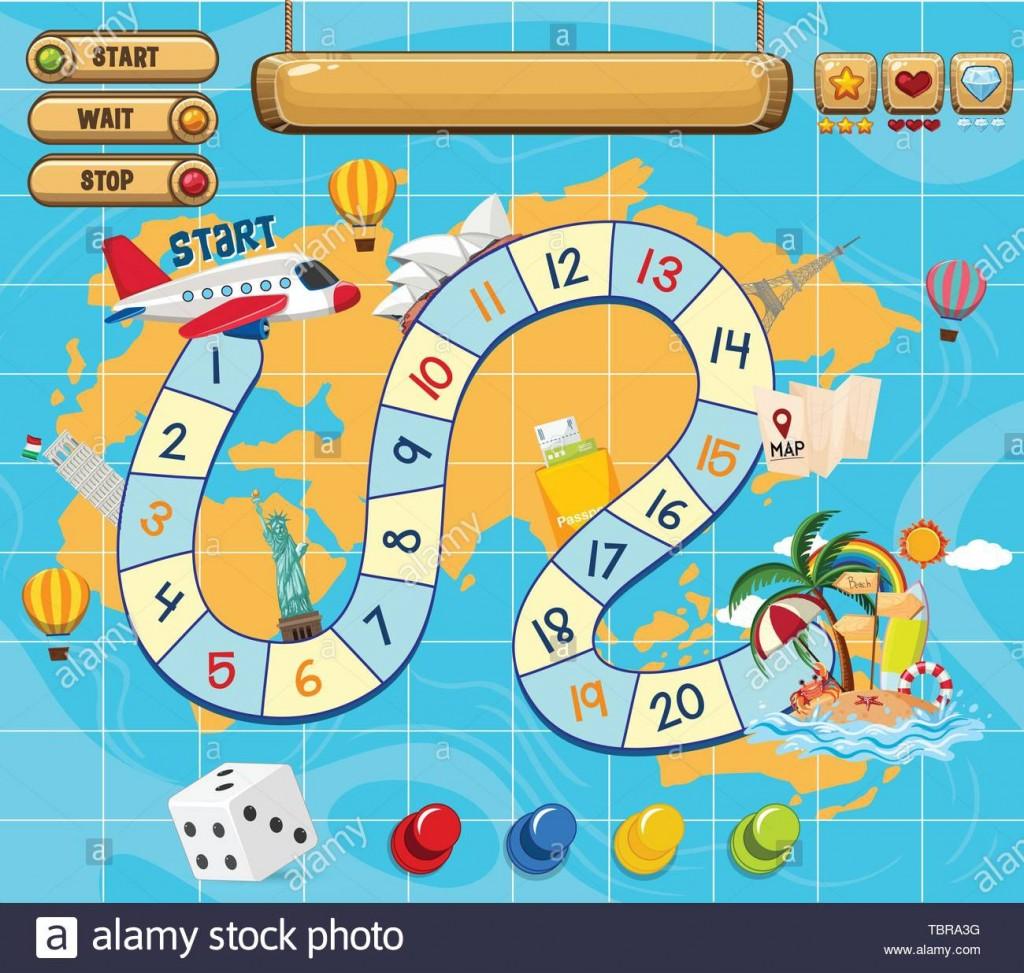 006 Amazing Editable Board Game Template Idea  Word Blank FreeLarge