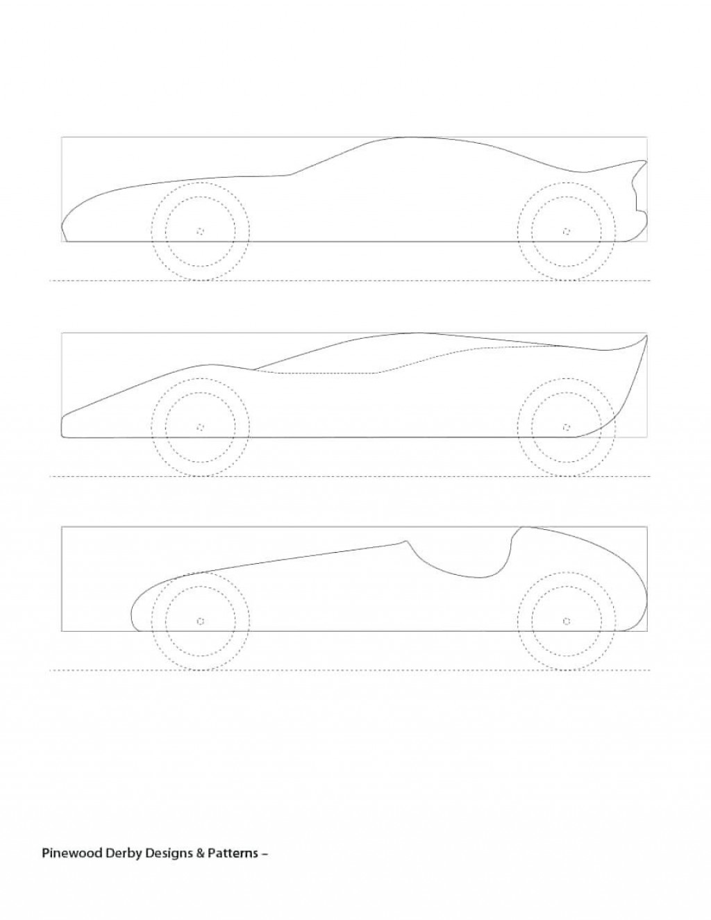 006 Amazing Fastest Pinewood Derby Car Template Sample  Templates World DesignLarge