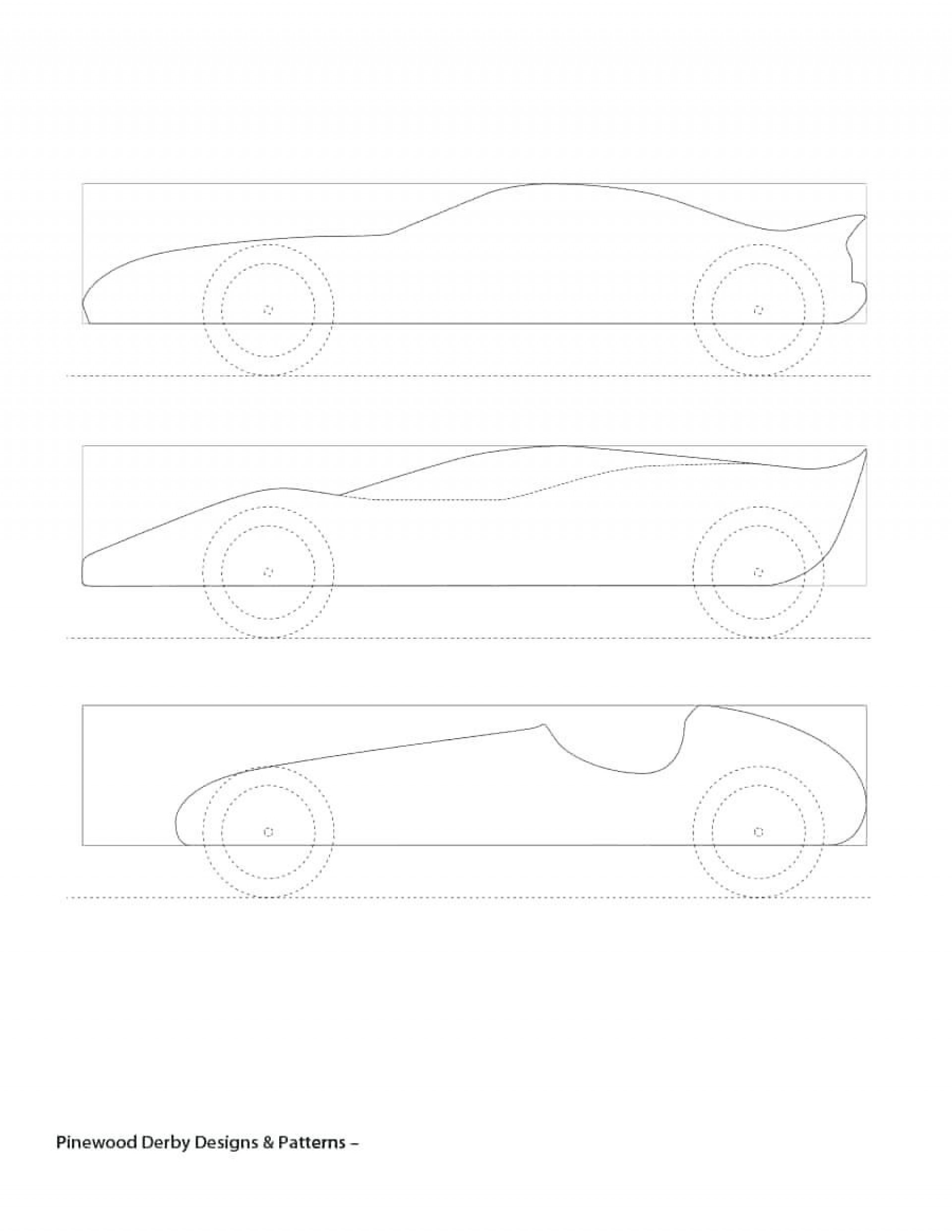 006 Amazing Fastest Pinewood Derby Car Template Sample  Templates World Design1920