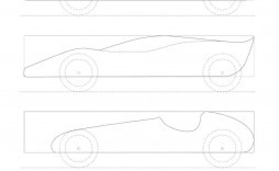 006 Amazing Fastest Pinewood Derby Car Template Sample  Templates World Design