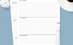 006 Amazing Google Doc Weekly Calendar Template 2021 Image  Free