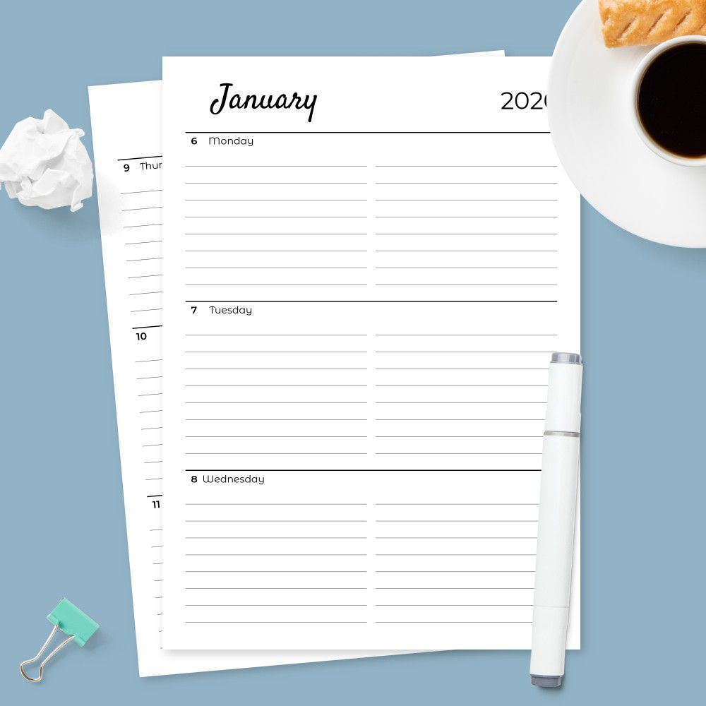 006 Amazing Google Doc Weekly Calendar Template 2021 Image  FreeFull
