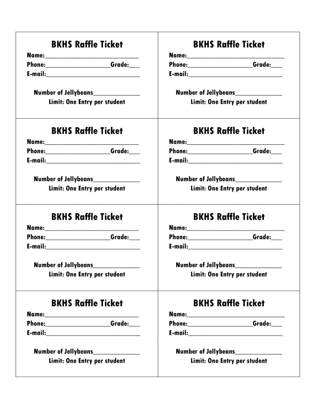 006 Amazing Microsoft Word Raffle Ticket Template Highest Clarity  2007 2010 8 Per PageLarge