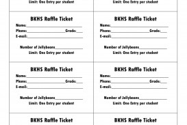 006 Amazing Microsoft Word Raffle Ticket Template Highest Clarity  2007 2010 8 Per Page