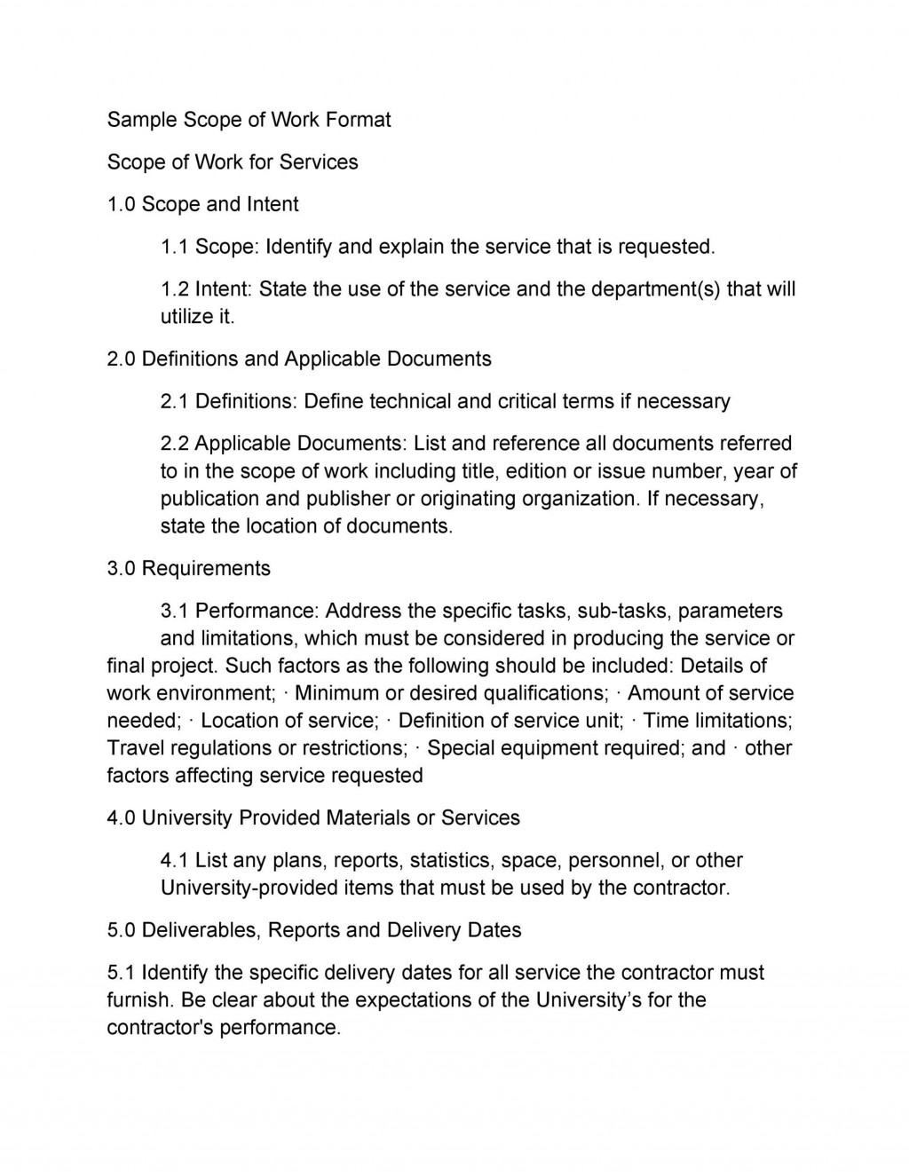 006 Amazing Sample Statement Of Work For Consulting Service High Def  Services ExampleLarge