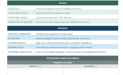 006 Amazing Strategic Planning Template Excel Free Highest Clarity