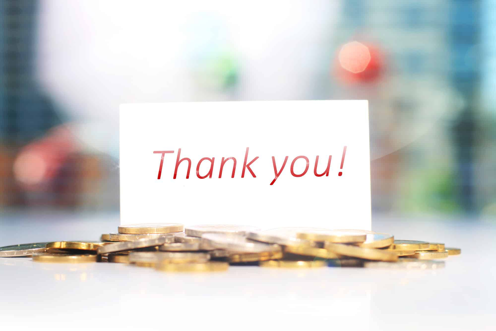 006 Amazing Thank You Note Template For Money High Def  Card Wording Wedding Example Donation GraduationFull
