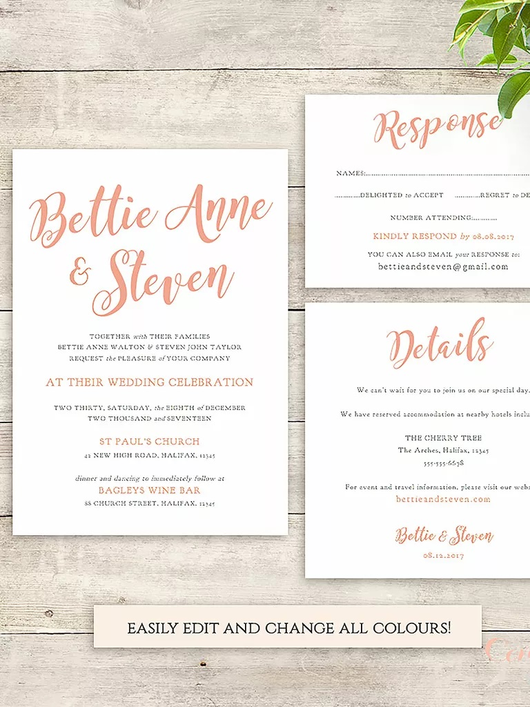 006 Amazing Wedding Invite Wording Template Photo  Templates Chinese Invitation Microsoft Word From Bride And Groom Example InvitingFull