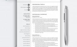 006 Amazing Word Resume Template 2020 Sample  Microsoft M