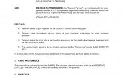 006 Archaicawful Busines Partnership Contract Template High Resolution  Agreement Free Download South Africa Nz