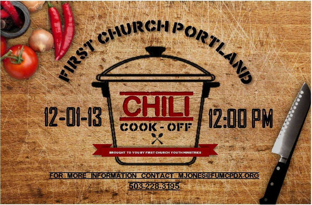 006 Archaicawful Chili Cook Off Flyer Template Picture  Halloween Office PowerpointFull