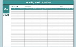 006 Archaicawful Free Excel Monthly Employee Schedule Template Concept  Download