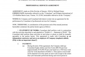 006 Archaicawful Free Service Contract Template Download Sample  Level Agreement Ndi
