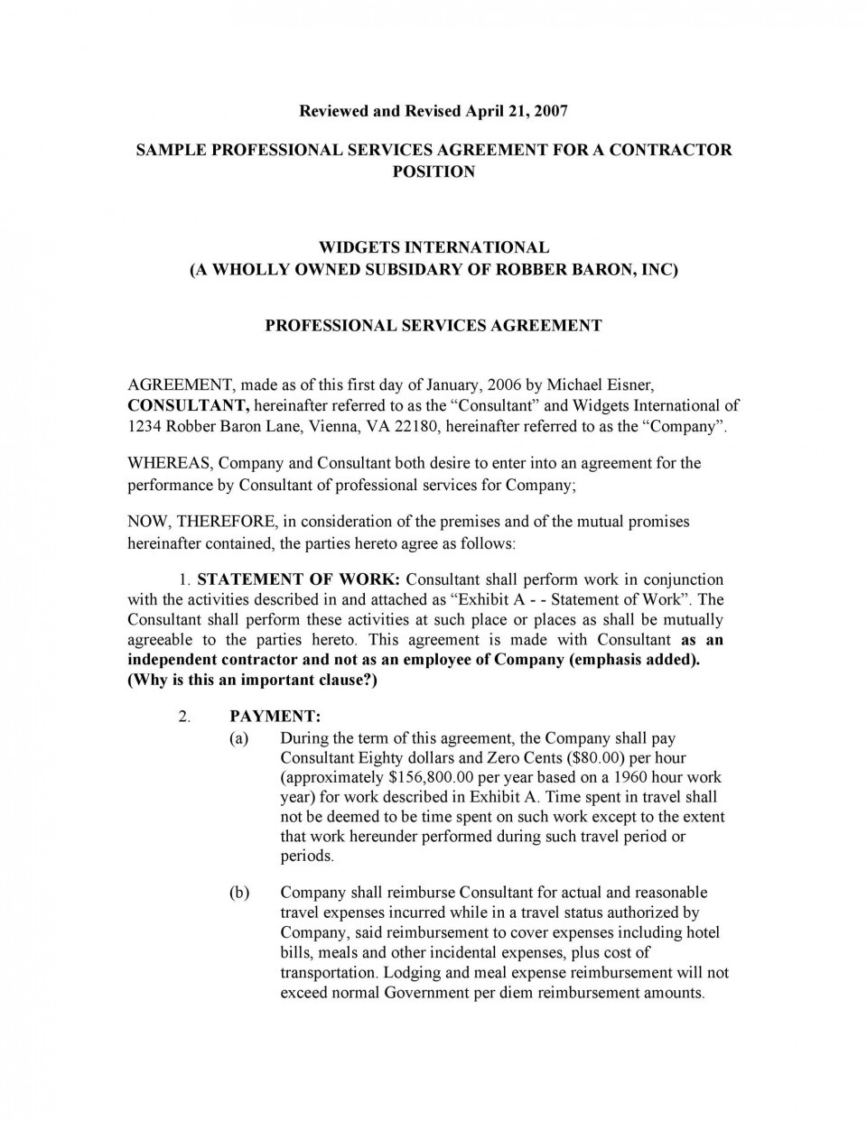 006 Archaicawful Free Service Contract Template Download Sample  Level Agreement Ndi960