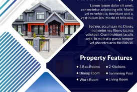 006 Archaicawful House For Sale Flyer Template Highest Clarity  Free Real Estate Example By Owner