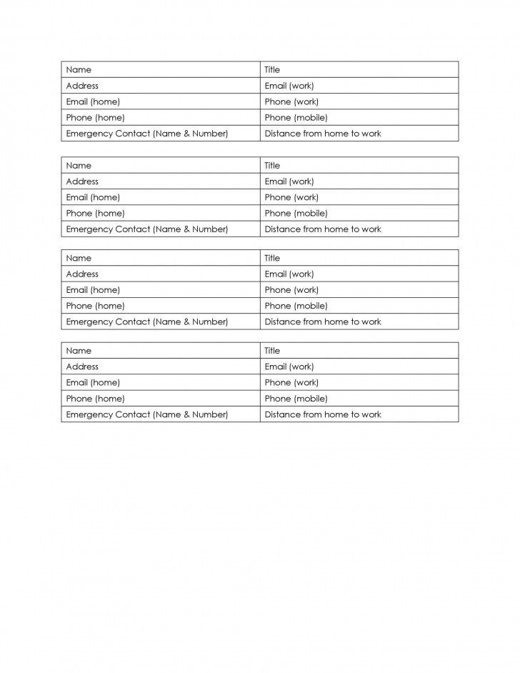 006 Archaicawful Microsoft Excel Phone List Template High Definition  Contact Part728
