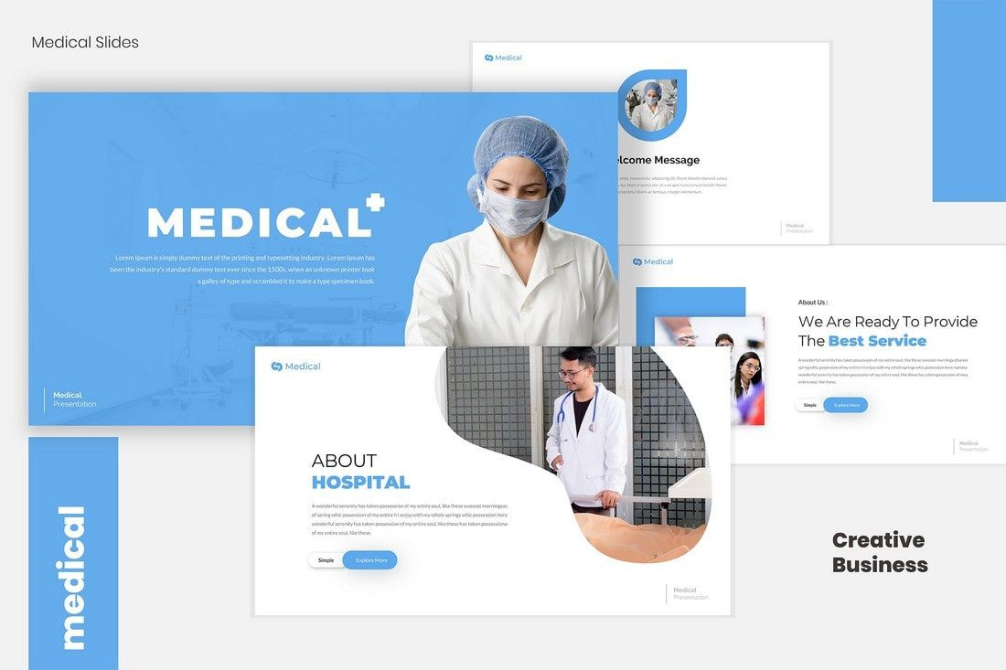 006 Archaicawful Powerpoint Presentation Template Free Download Medical High Resolution  AnimatedFull