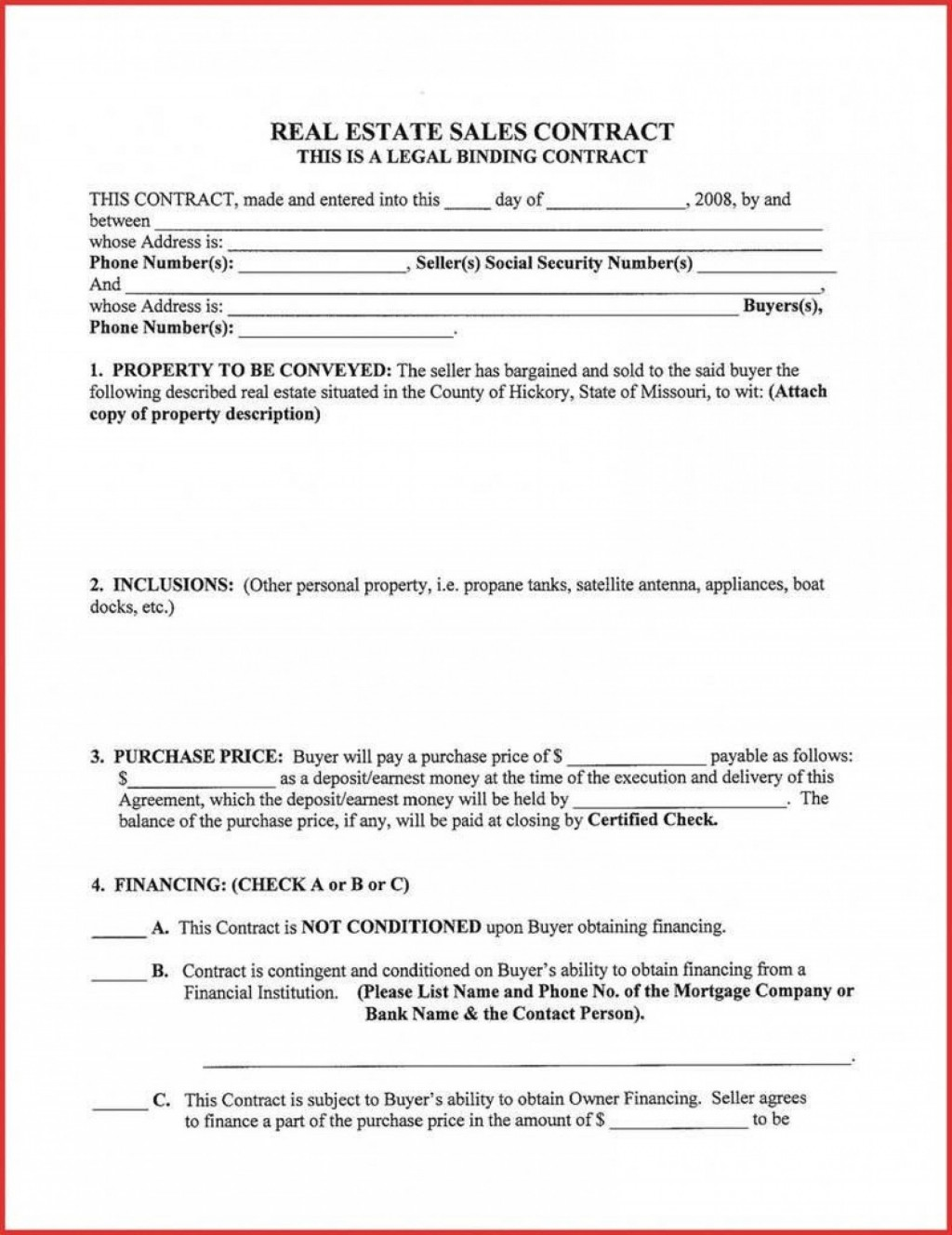 006 Archaicawful Residential Purchase Agreement Template Concept  California Form FreeLarge
