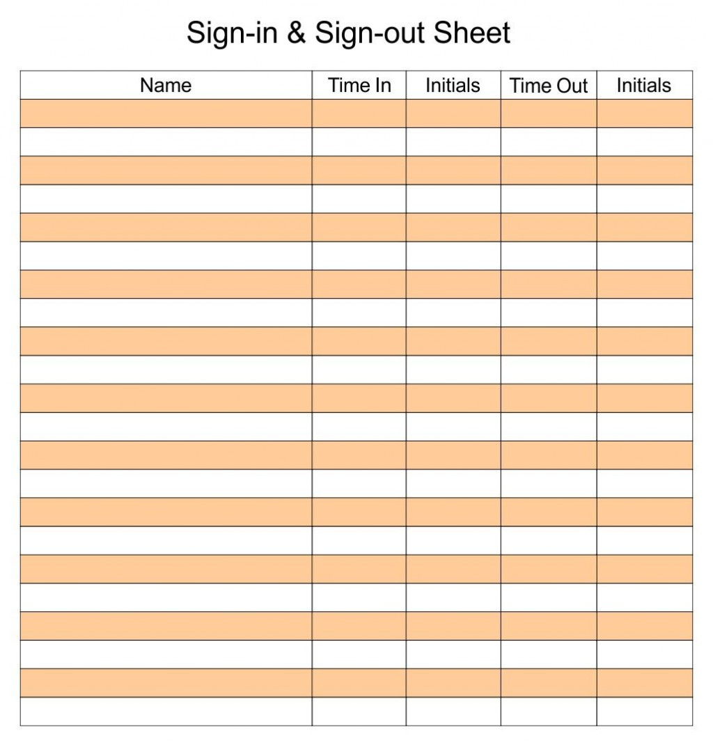 006 Archaicawful Sign In Sheet Template Excel Download Highest Quality Large