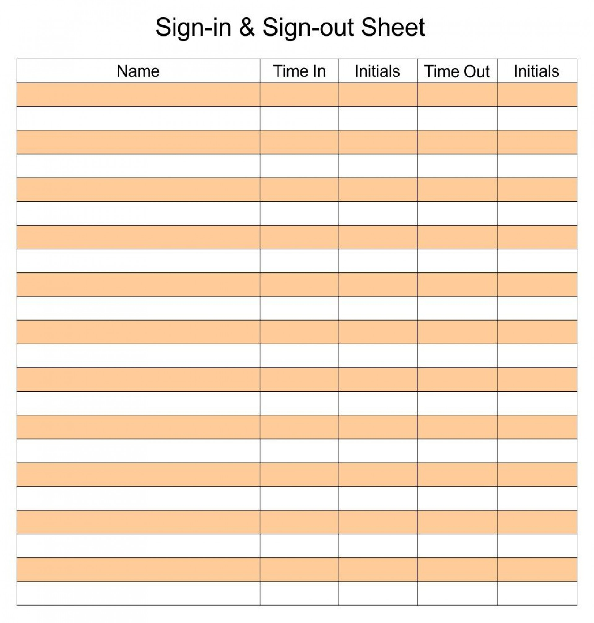 006 Archaicawful Sign In Sheet Template Excel Download Highest Quality 1920