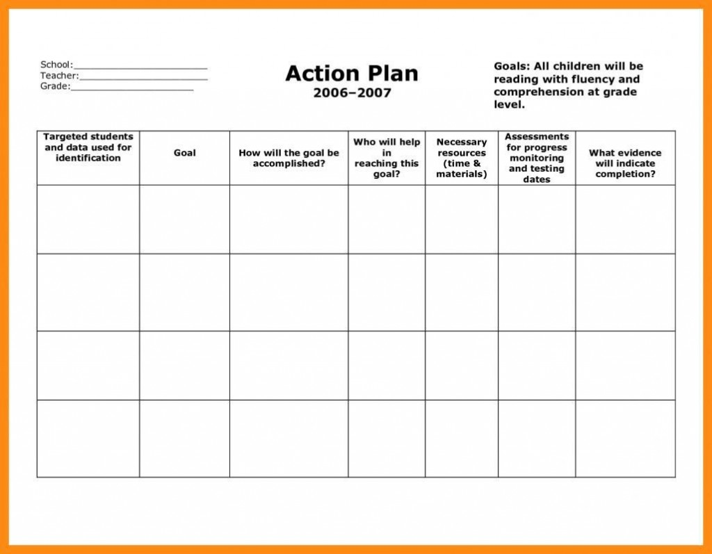 006 Archaicawful Smart Action Plan Template Highest Clarity  Download Nh Example FreeLarge