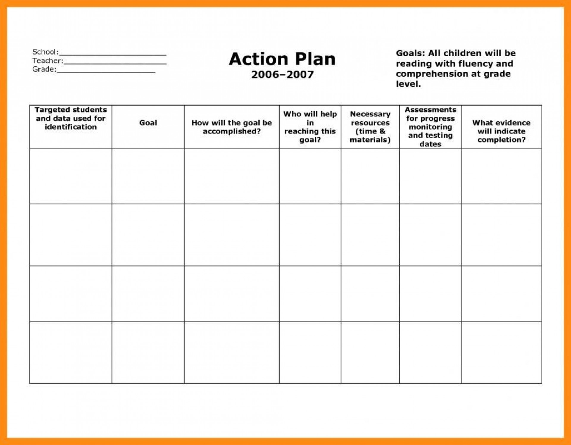 006 Archaicawful Smart Action Plan Template Highest Clarity  Download Nh Example Free1920