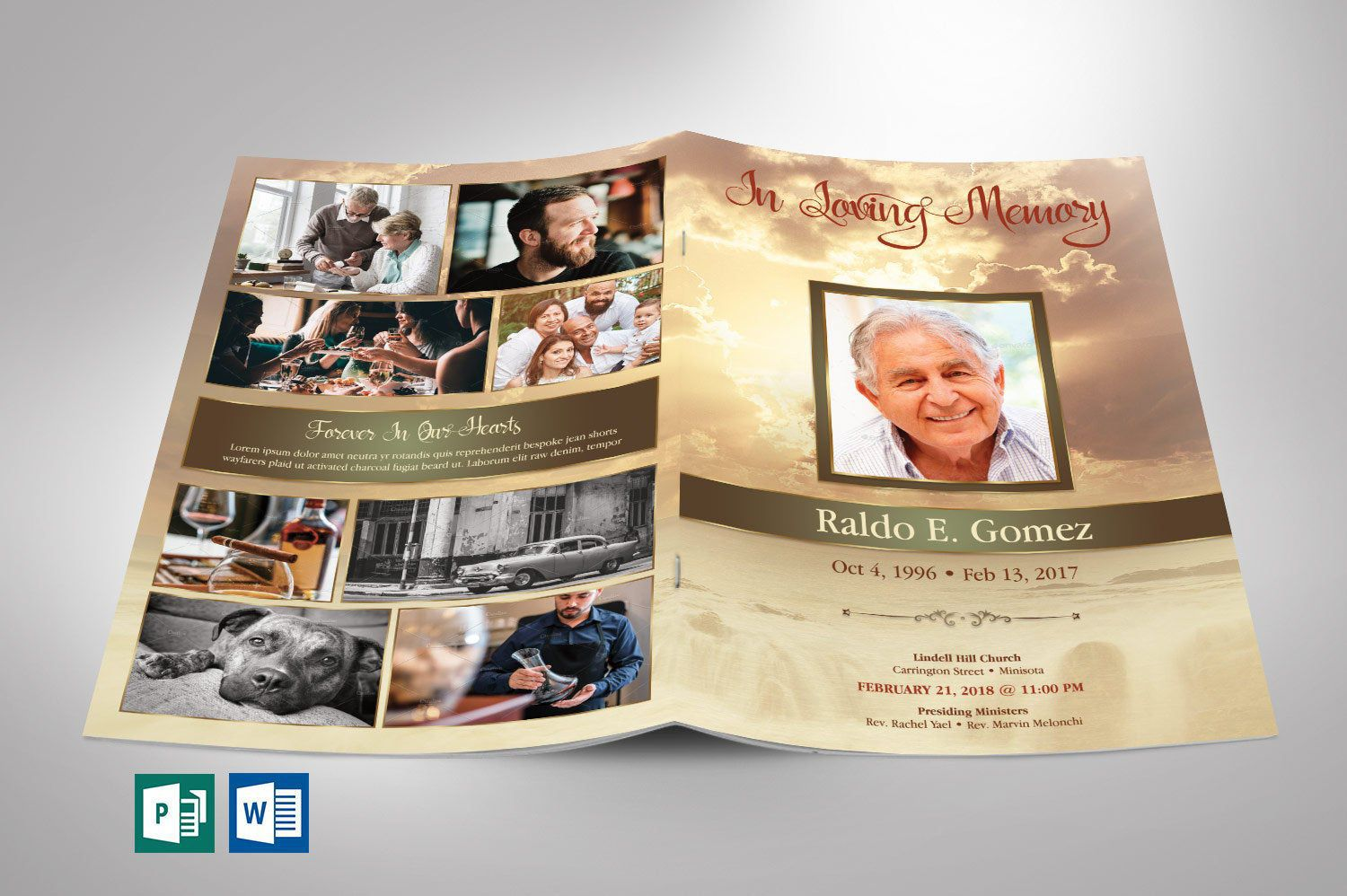 006 Archaicawful Template For Funeral Program Publisher High Resolution Full