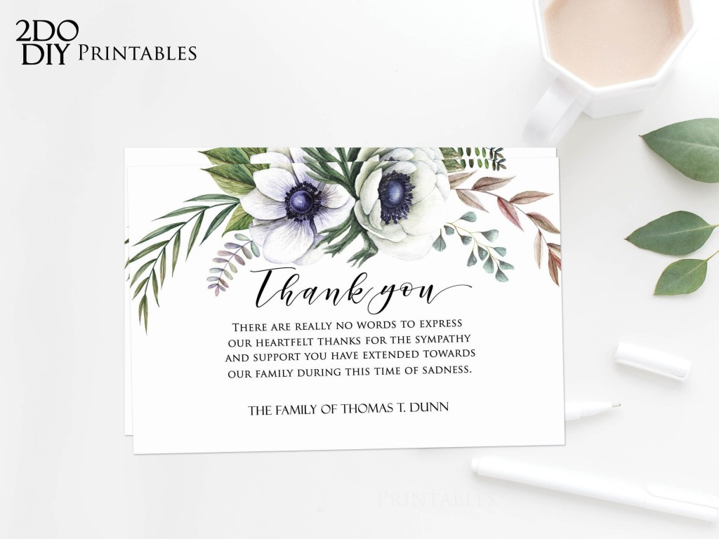 006 Archaicawful Thank You Note Template Microsoft Word Design  Card Free Funeral LetterLarge
