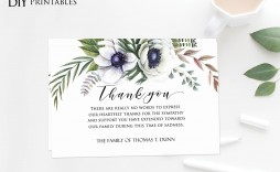 006 Archaicawful Thank You Note Template Microsoft Word Design  Card Free Funeral Letter