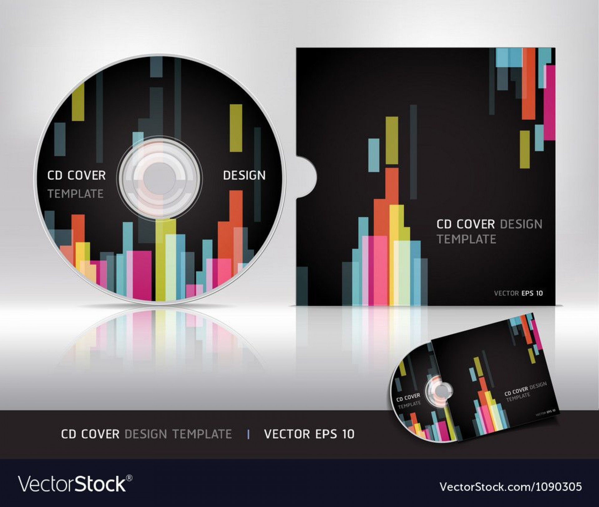 006 Archaicawful Vector Cd Cover Design Template Free Sample 1920