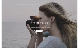 006 Archaicawful Website Template For Photographer Concept  Photographers Free Responsive Photography Php Best