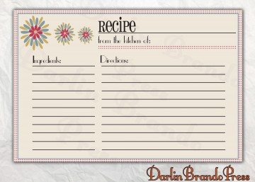 006 Astounding 4 X 6 Recipe Card Template Microsoft Word Inspiration 360