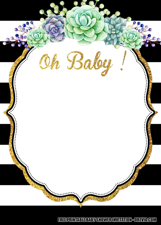 006 Astounding Baby Shower Invitation Free Template Highest Clarity  Templates Online Printable E-invitation Card Design DownloadLarge