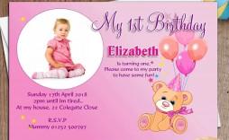 006 Astounding Birthday Invitation Card Word Format Design  Template Free
