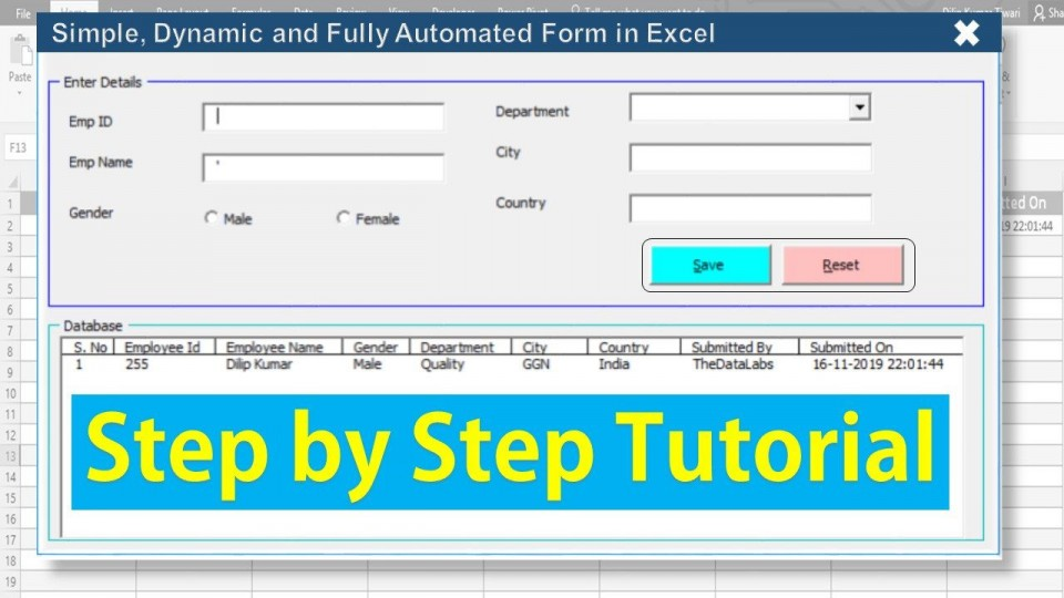 006 Astounding Excel Data Entry Form Template Highest Clarity  Free Download Example Pdf960