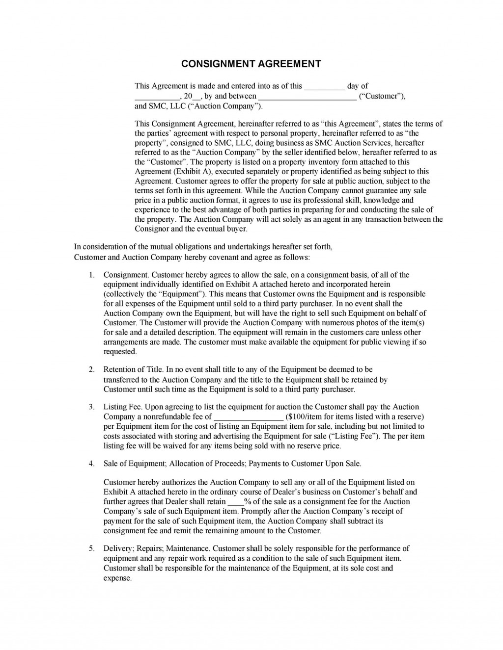 006 Astounding Exclusive Distribution Agreement Template Canada Inspiration Large
