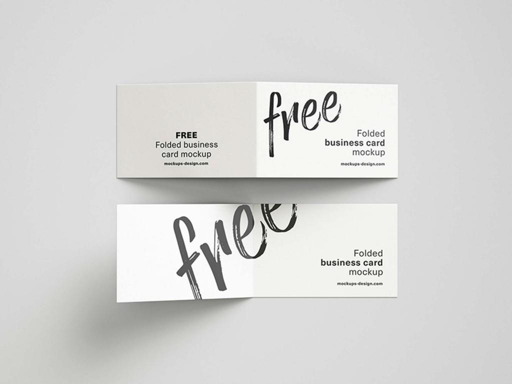 006 Astounding Folding Busines Card Template Highest Quality  Folded Photoshop Ai FreeLarge