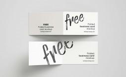 006 Astounding Folding Busines Card Template Highest Quality  Folded Photoshop Ai Free
