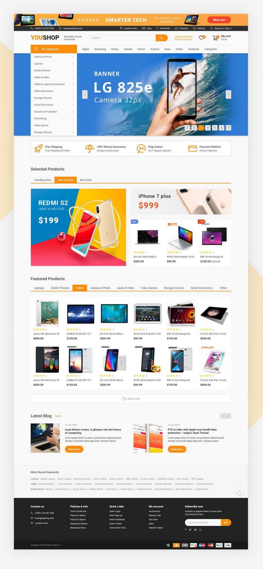006 Astounding Free E Commerce Website Template Image  Ecommerce Html Cs Bootstrap PhpLarge
