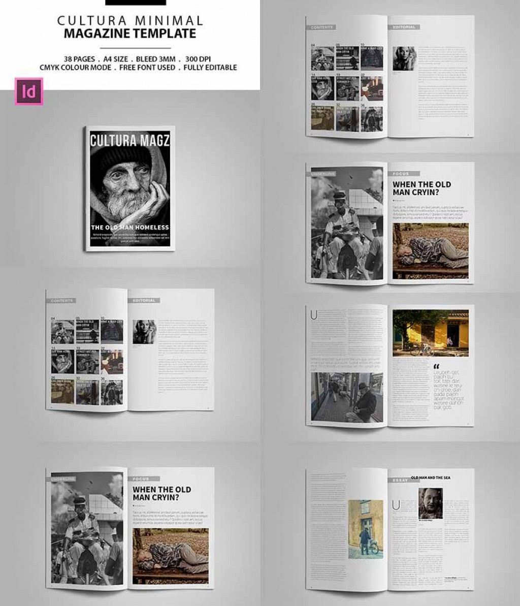 006 Astounding Free Magazine Layout Template Example  Templates For Word Microsoft PowerpointLarge