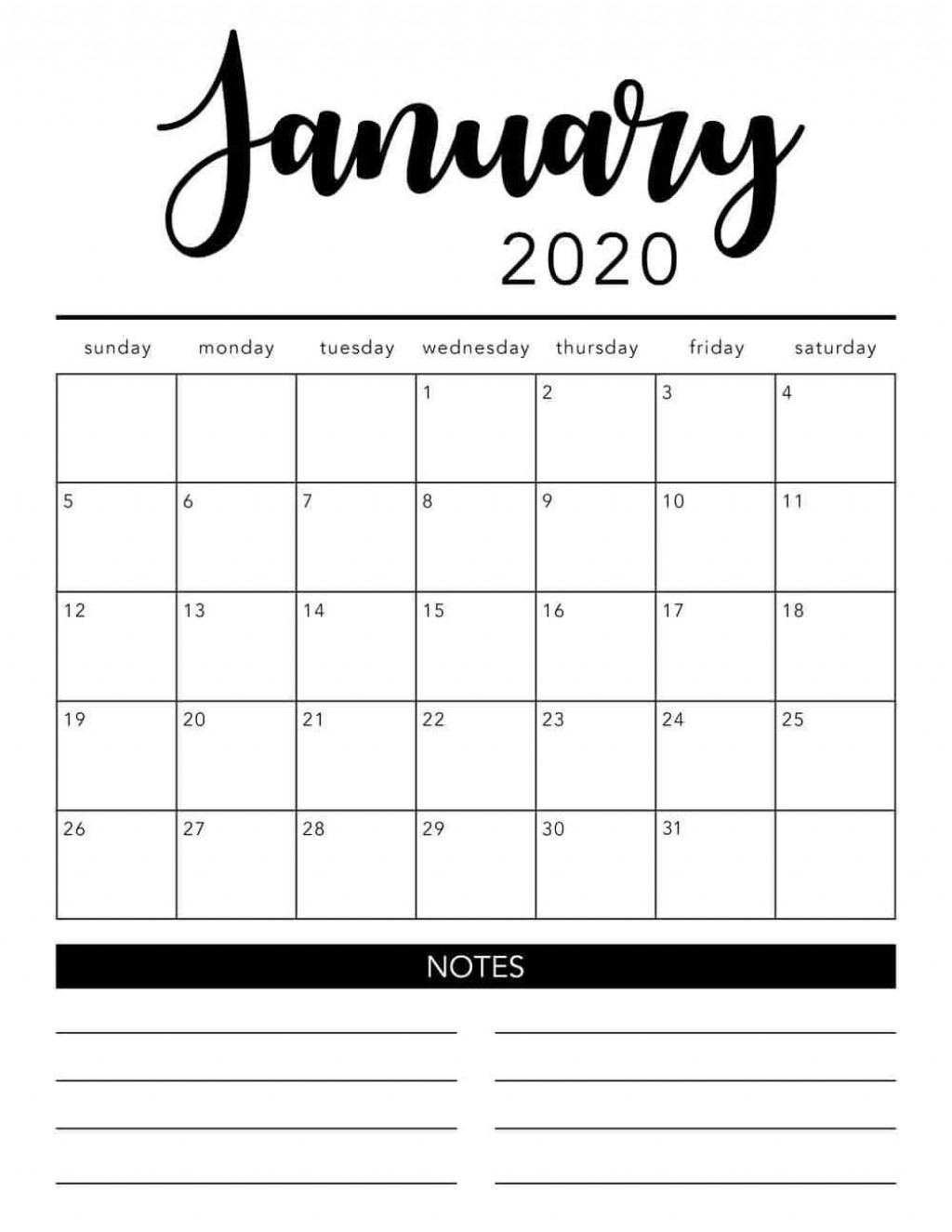 006 Astounding Free Printable 2020 Monthly Calendar Template High Definition  Templates Home Word 3 MonthLarge
