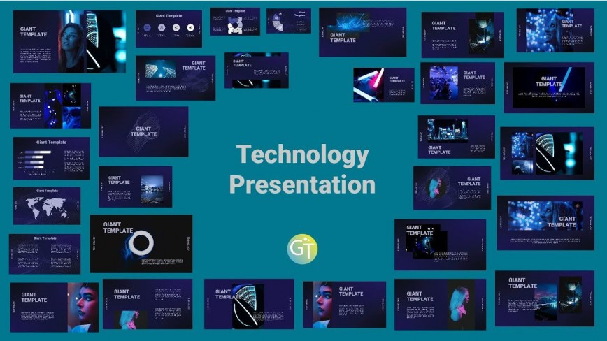 006 Astounding Free Technology Powerpoint Template Idea  Templates Information Animated Presentation Download