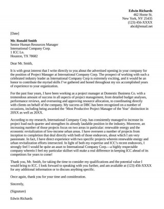006 Astounding General Manager Cover Letter Template Highest Quality  Hotel320