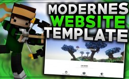 006 Astounding Minecraft Website Template Html Free Download Example